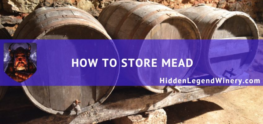 how to store mead
